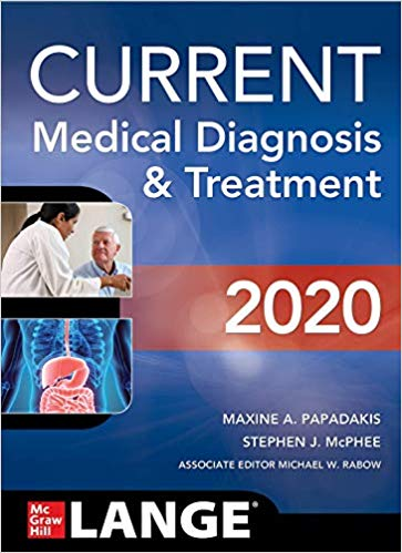 Current medical diagnosis & treatment 2020 [electronic resource]