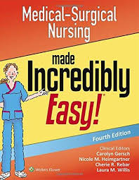 Medical-Surgical Nursing Made Incredibly Easy! [electronic resource]