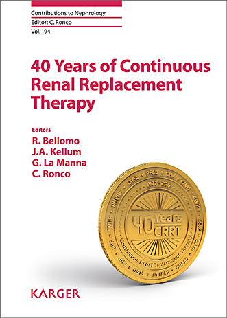 40 years of continuous renal replacement therapy [electronic resource]