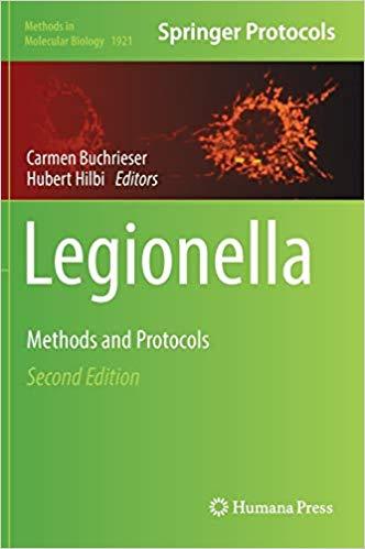 Legionella : methods and protocols [electronic resource]