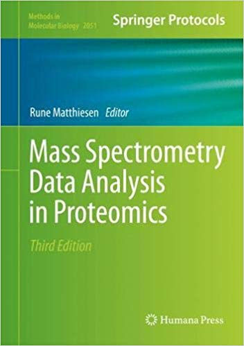Mass spectrometry data analysis in proteomics [electronic resource]