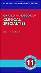 Oxford handbook of clinical specialties [electronic resource]