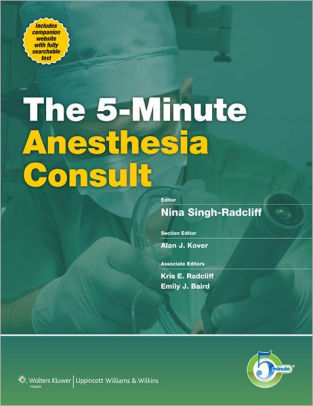 5-Minute Anesthesia Consult [electronic resource]