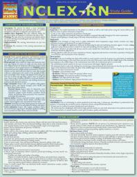 NCLEX-RN Study Guide : a QuickStudy Laminated Reference Guide [electronic resource]
