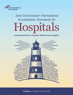 Joint Commission International accreditation standards for hospitals : including standards for Academic Medical Center Hospitals [electronic resource]