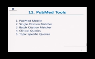 7. PubMed - Tools