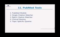 7. PubMed – Tools