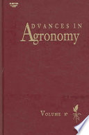 Advances in Agronomy, Vol 87 [electronic resource]