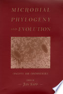 Microbial phylogeny and evolution : concepts and controversies [electronic resource]