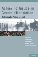 Achieving Justice in Genomic Translation [electronic resource]