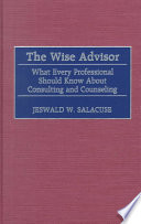 The Wise Advisor [electronic resource]