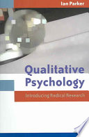Qualitative Psychology [electronic resource]