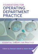 Foundations for Operating Department Practice: Essential Theory for Practice [electronic resource]