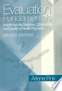 Evaluation Fundamentals [electronic resource]