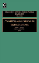 Cognition and Learning in Diverse Settings [electronic resource]