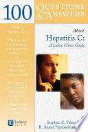 100 questions & answers about hepatitis C : a Lahey clinic guide [electronic resource]