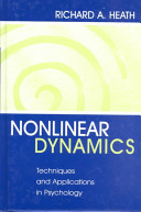 Nonlinear dynamics : techniques and applications in psychology [electronic resource]