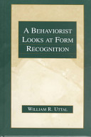 A behaviorist looks at form recognition [electronic resource]