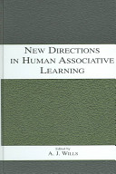 New directions in human associative learning [electronic resource]