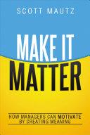 Make It Matter [electronic resource]