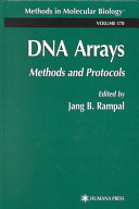 DNA arrays : methods and protocols [electronic resource]