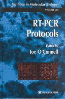 RT-PCR protocols [electronic resource]