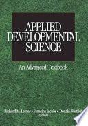 Applied Developmental Science [electronic resource]
