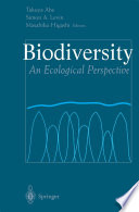 Biodiversity An Ecological Perspective /  [electronic resource]