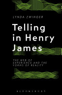 Telling in Henry James [electronic resource]
