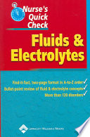 Nurse's Quick Check : Fluids and Electrolytes [electronic resource]