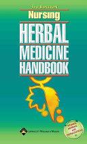 Nursing Herbal Medicine Handbook [electronic resource]