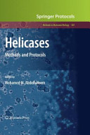 Helicases Methods and Protocols /  [electronic resource]