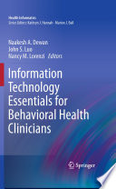 Information Technology Essentials for Behavioral Health Clinicians [electronic resource]