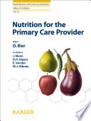 Nutrition for the Primary Care Provider [electronic resource]