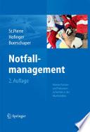 Notfallmanagement Human Factors und Patientensicherheit in der Akutmedizin /  [electronic resource]