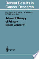 Adjuvant Therapy of Primary Breast Cancer VI [electronic resource]